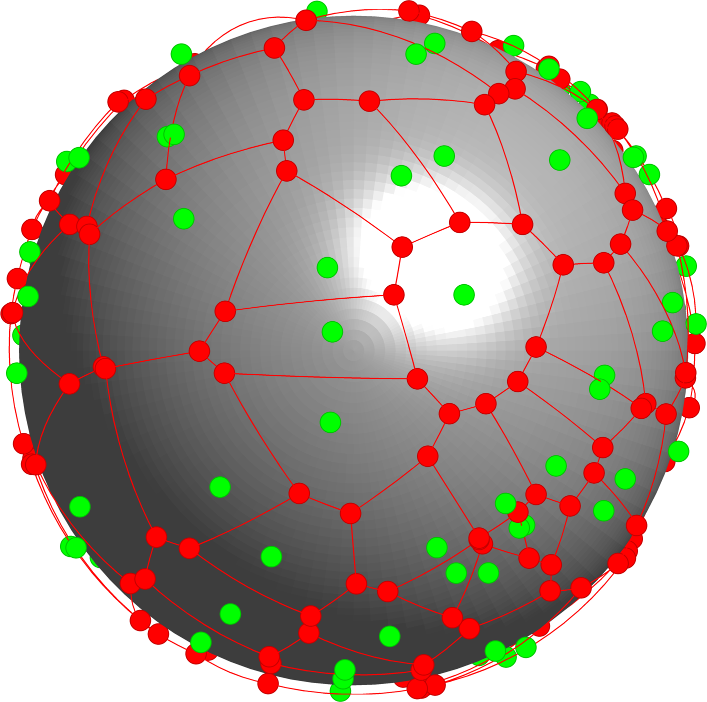 Voronoi diagrams on the sphere | Beni Bogoşel's blog